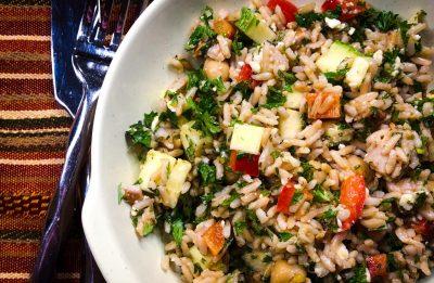 Cold Rice Salad Recipe